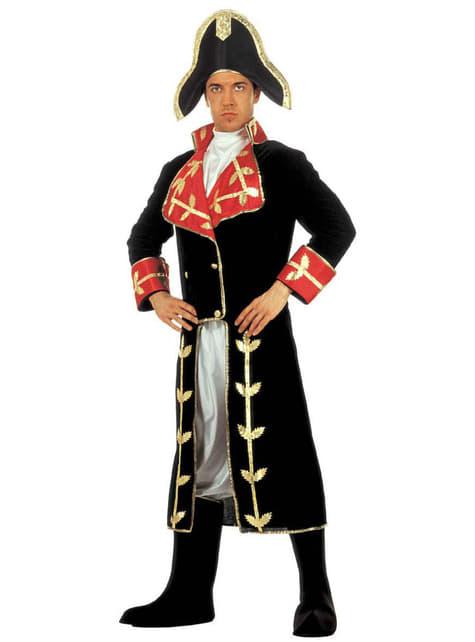 Disfraz de Napoleón conquistador para adulto