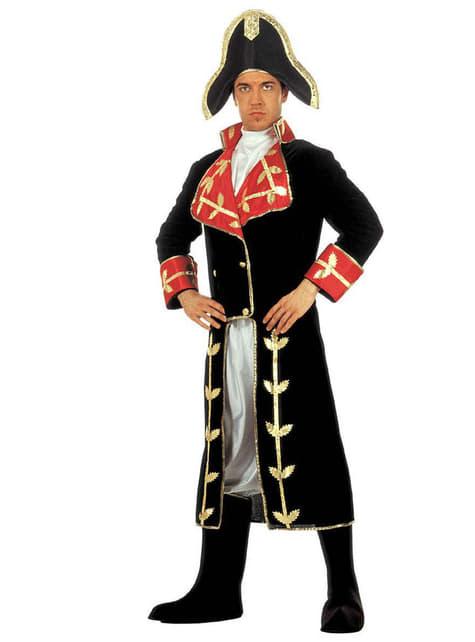 Disfraz de Napoleón conquistador para adulto - hombre