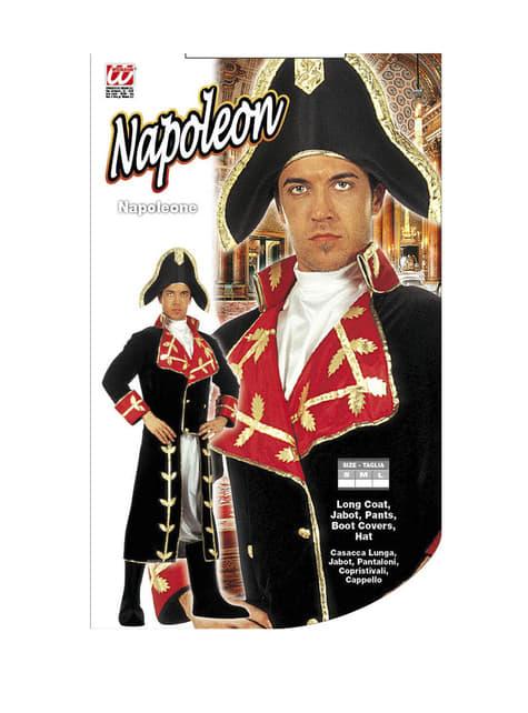 Disfraz de Napoleón conquistador para adulto - original