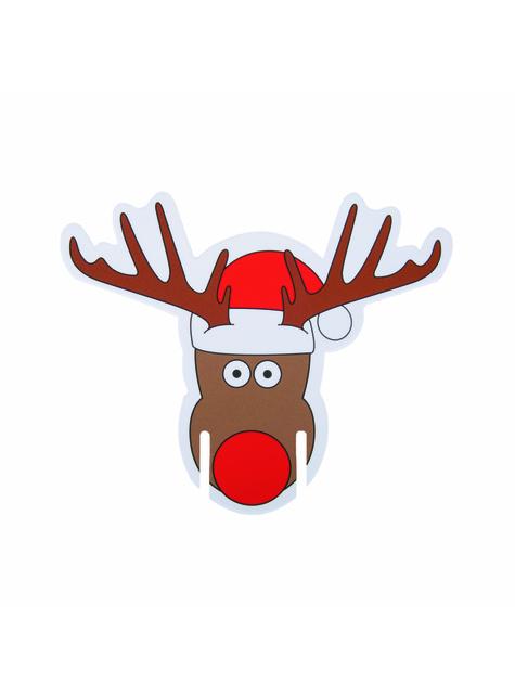 10 adornos para copas de Rudolph el reno