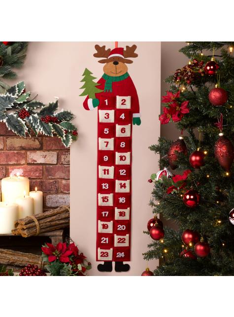 Calendrier de l'Avent Renne de Noël