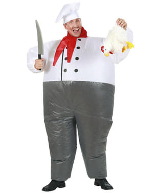 Adults Inflatable Chef Costume
