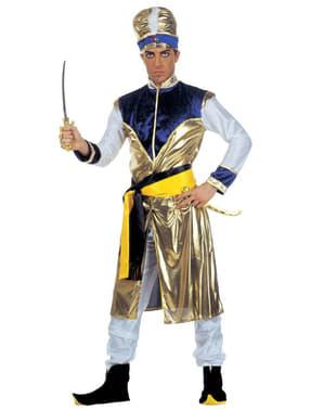 Disfraz de maharajá malévolo para hombre