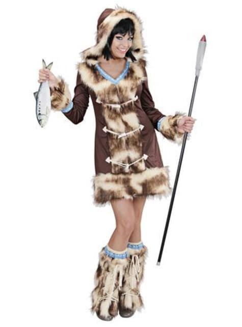 Disfraz de esquimal Aikaa para mujer