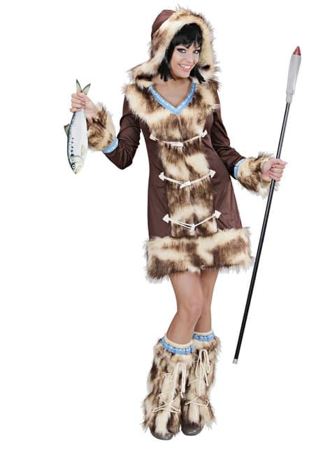 Eskimo Aikaa Kostüm für Damen