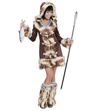 Costum de eschimos Aikaa pentru femeie