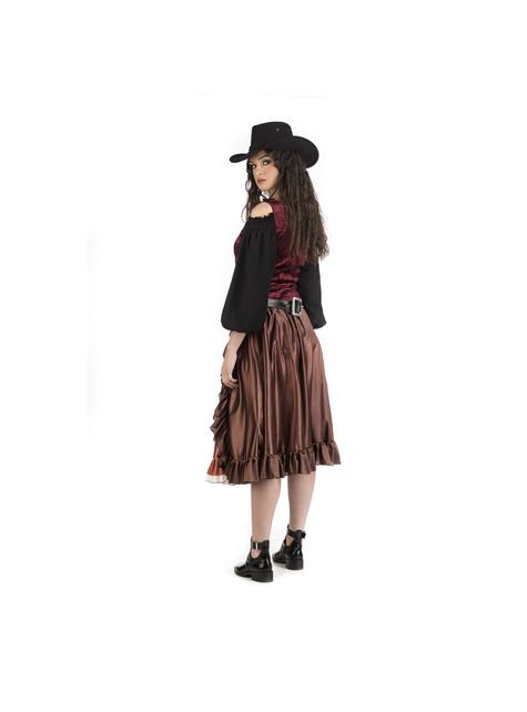 Roekeloze Cowgirl-kostuum voor dames - origineel