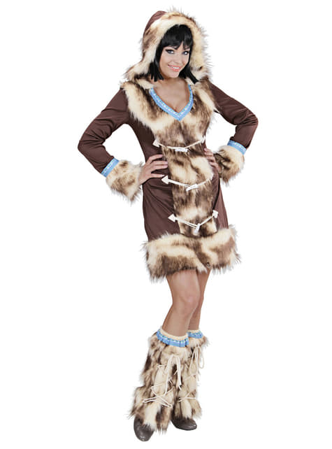 Disfraz de esquimal Aikaa para mujer - original