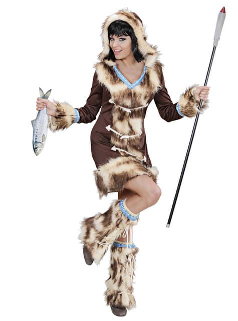 Disfraz de esquimal Aikaa para mujer - traje