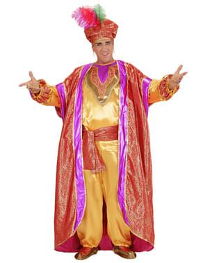 Disfraz de sultán poderoso para hombre