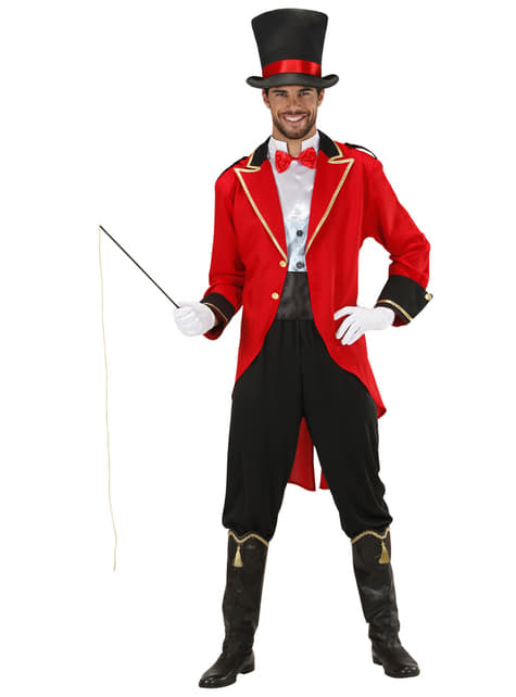 Mens Plus Size Lion Tamer Costume