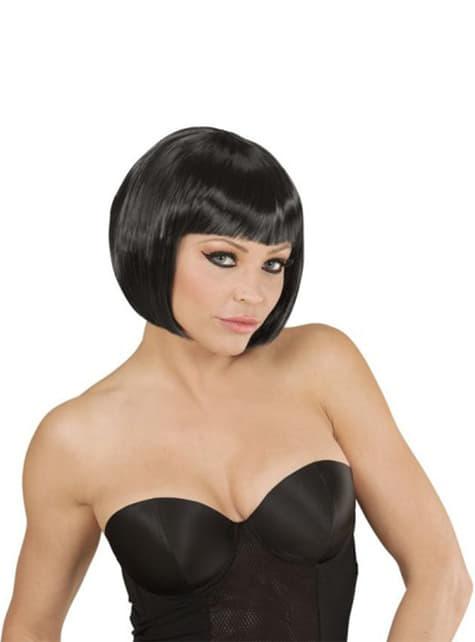 Чорний перуку Шанель