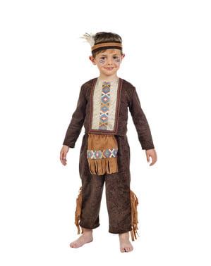 Grappige indiaan kostuum voor kinderen