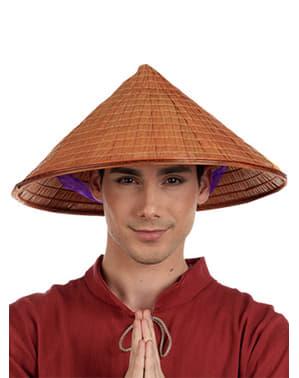 Chinesischer Reisbauern Hut für Herren