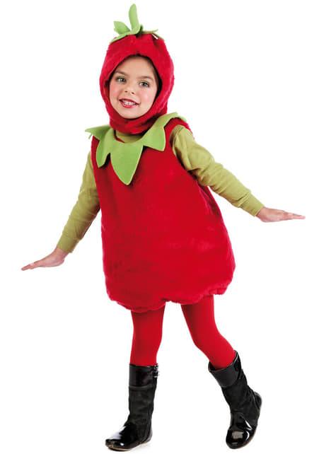 Erdbeerkostüm für Kleinkinder