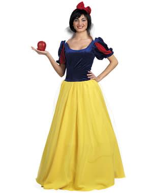Schneewittchen Kostüm Deluxe für Damen große Größe