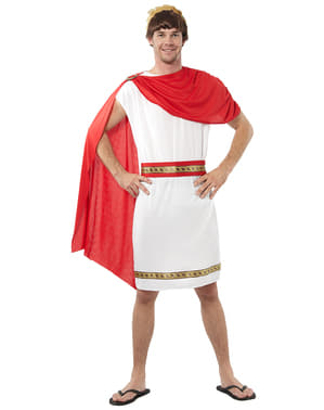 Déguisement romain rouge homme