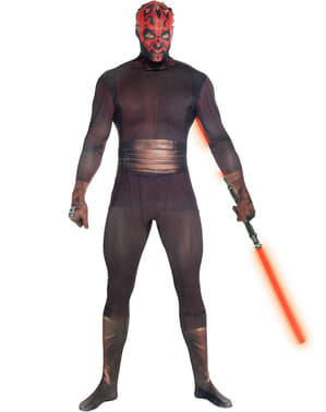 Morphsuit Darth Maul deluxe kostume