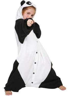 Piagiama Kigurumi panda karateca per bambini