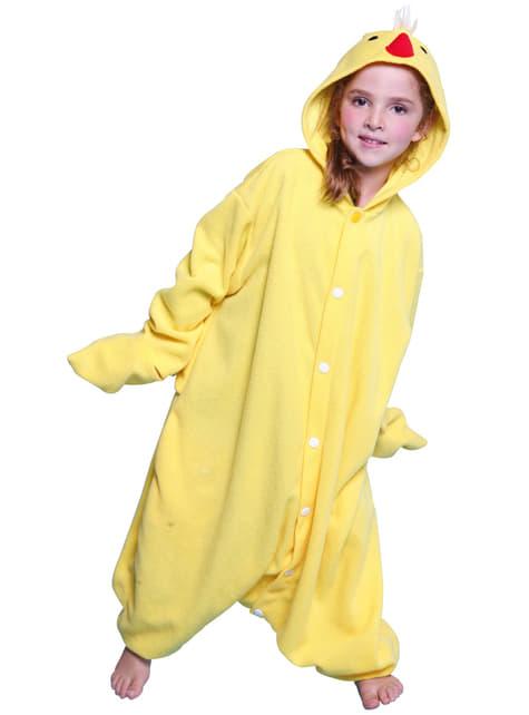 Disfraz de pollito de granja Bcozy Onesie infantil