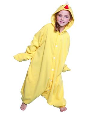 Costum de puișor de fermă Bcozy Onesie pentru copii