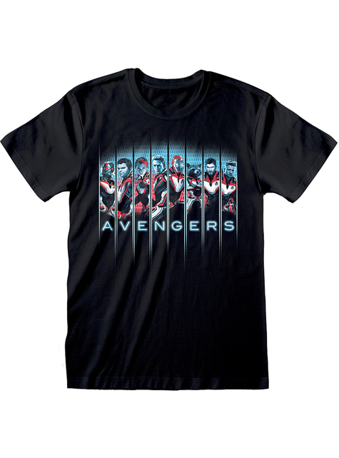 Avengers Endgame characters T-shirt for men - Marvel