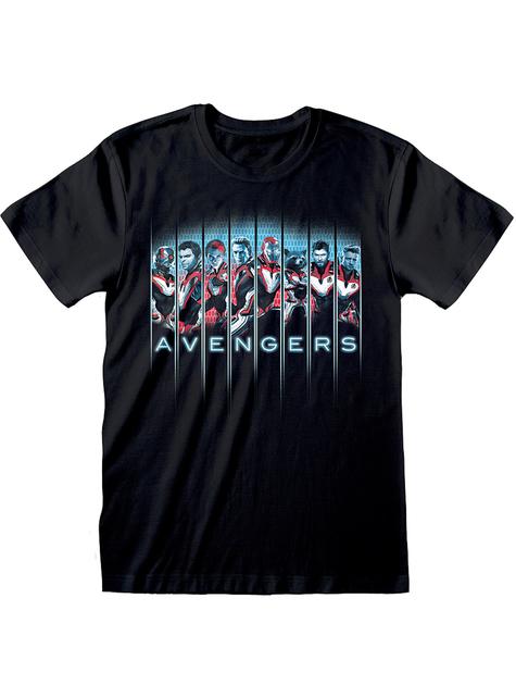 Avengers Endgame hahmot t-paita miehille - Marvel