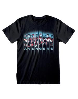 マーベル アベンジャーズ・エンドゲームのキャラクター男性用Tシャツ