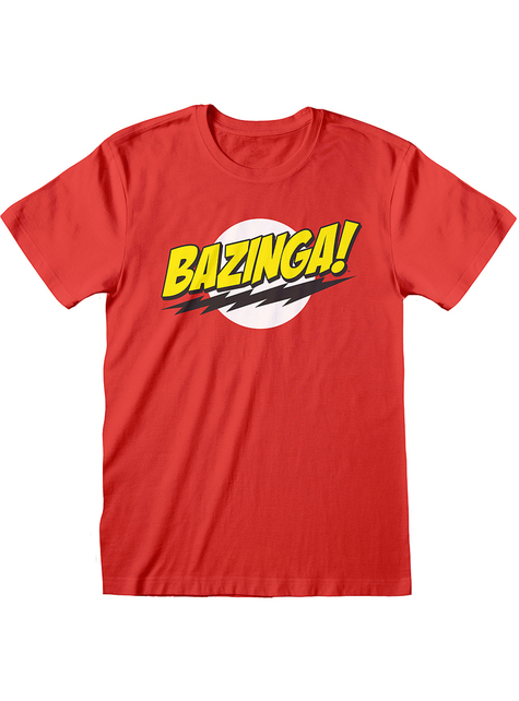The Big Band Theory T-Shirt rot für Herren