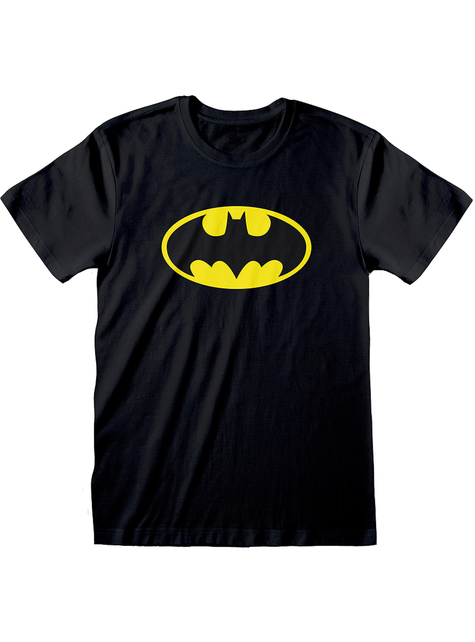 Klassine Batman logo t-paita miehille - DC Comics