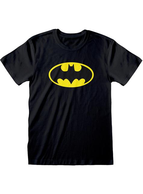 Мъжка тениска с класическата емблема на Батман– Комикси DC