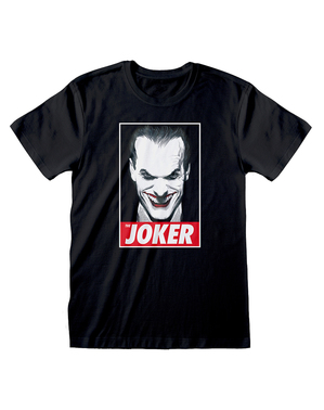 Joker T-shirt for men in black - DC Comics