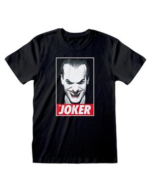 Jokeri t-paita miehille mustana - DC Comics