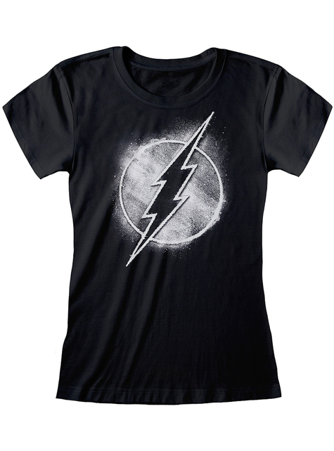 Flash T-shirt for women in black - DC Comics