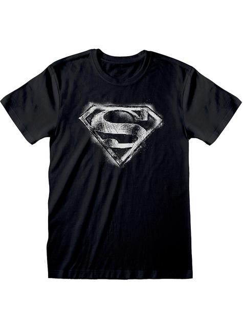 T-shirt de Super-Homem logo para homem - DC Comics