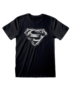 Superman logo T-shirt til mænd - DC Comics