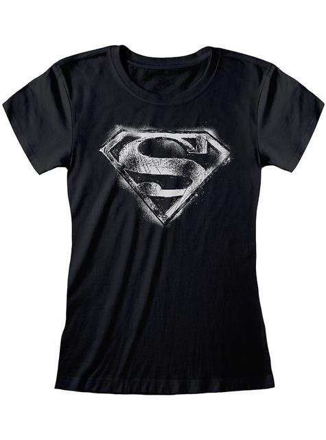Superman logo T-skjorte til damer - DC Comics