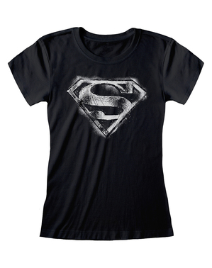 Superman logo T-shirt voor dames - DC Comics