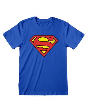 חולצת טריקו הלוגו הקלאסי סופרמן לגברים - קומיקס DC