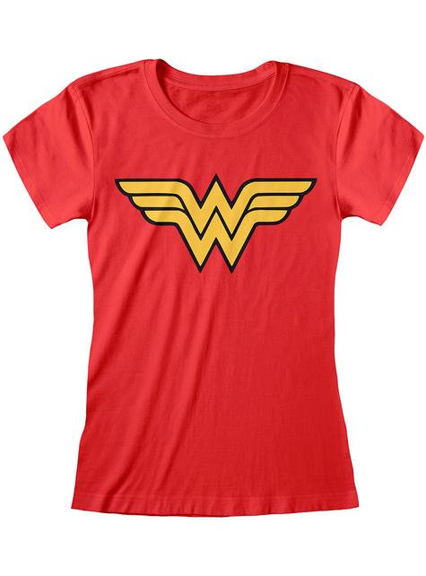 T-shirt Wonder Woman logo femme - DC Comics