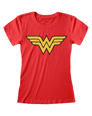 Wonder Woman logo t-paita naisille - DC Comics