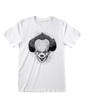 Biała koszulka Pennywise dla mężczyzn - To: Rozdział 2