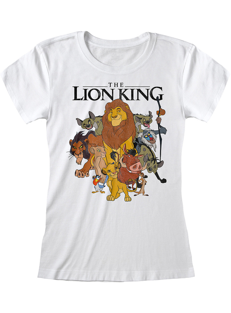Lion King characters T-shirt for women - Disney