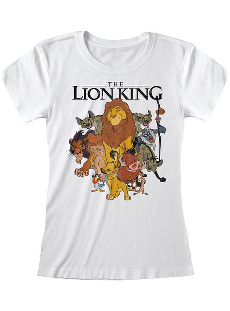 T-shirt Le roi Lion personnages femme - Disney