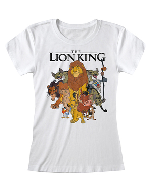 Maglietta Il Re Leone personaggi per donna - Disney