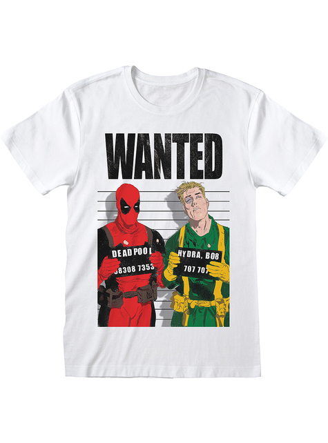Camiseta de Deadpool wanted para hombre - Marvel