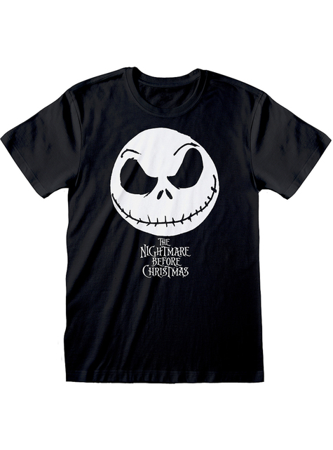 T-Shirt of Jack Nightmare before Christmas in black for men