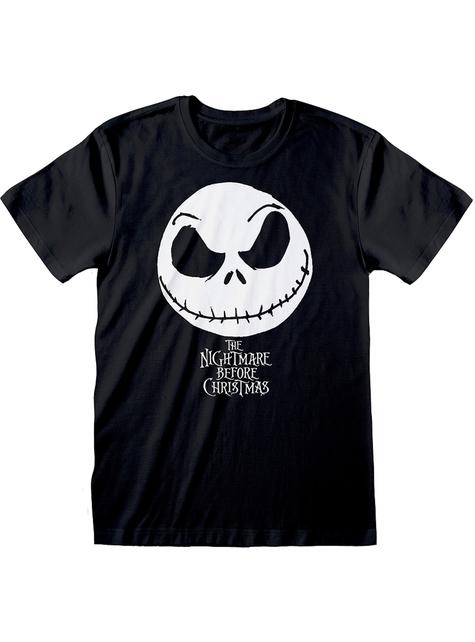 T-Shirt van Jack Nightmare before Christmas in zwart voor mannen