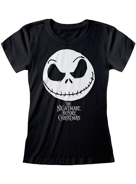 T-shirt Jack L'Étrange Noël de monsieur Jack noir femme