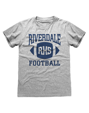 Maglietta Riverdale grigia per uomo